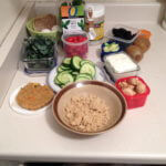 Food For Day 1 All measured out!