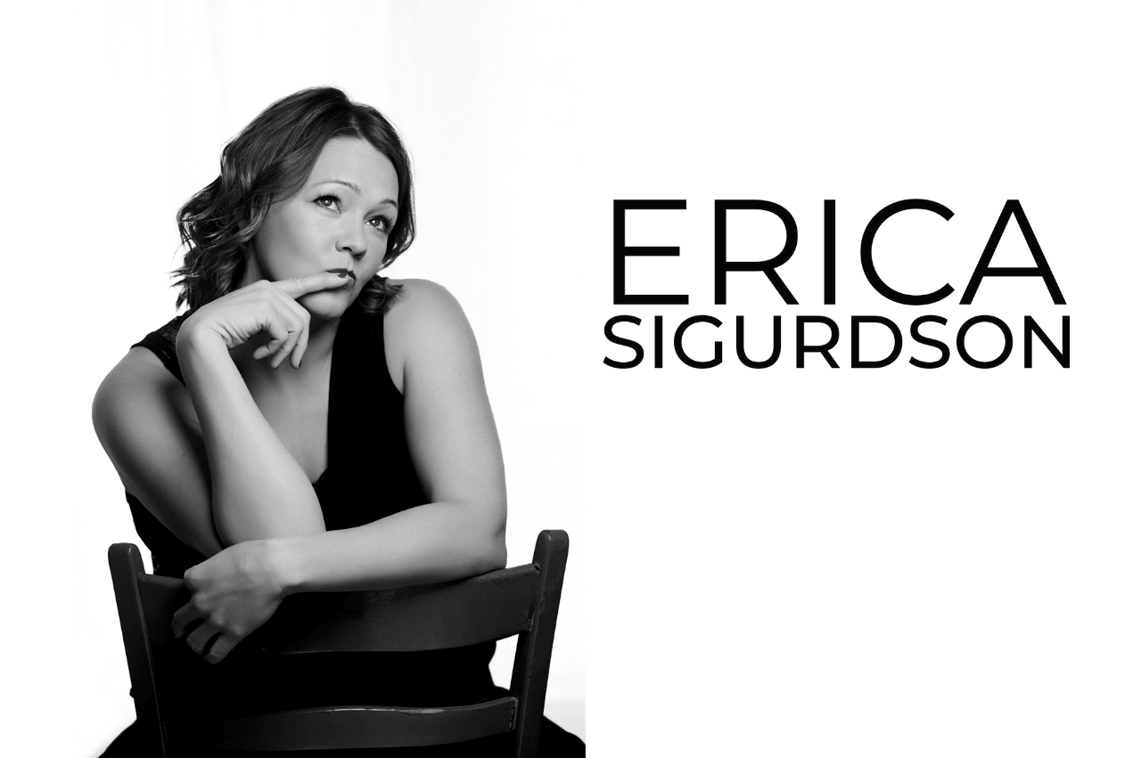 book corporate entertainers Ontario, Erica Sigurdson comedian writter tours